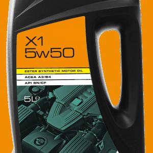 X1 5W50 Ester Hybrid