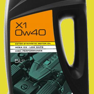 X1 0W40 Ester Hybrid