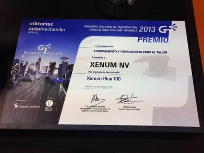 Xenum I-FLUX 100 Перемагає! @ Motortec Madrid