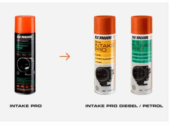 Полная очистка двигателя с Intake Pro Diesel и Intake Pro Petrol